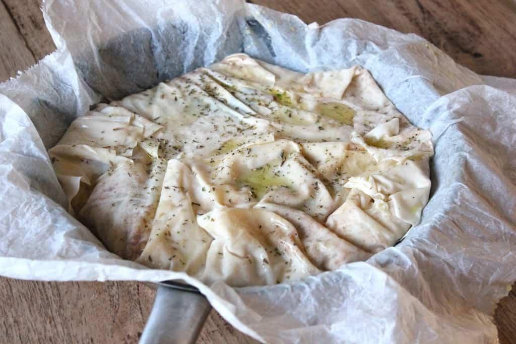 Jamie's spinazietaart met feta | ENJOY! The Good Life