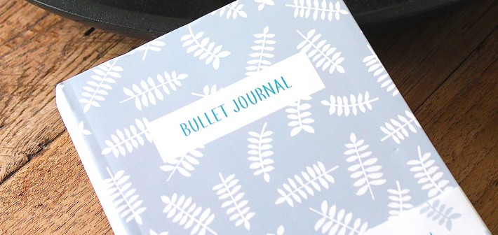 Alles overzichtelijk in dit Bullet Journal