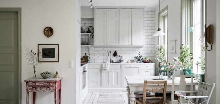 Binnenkijken in een Zweeds appartement
