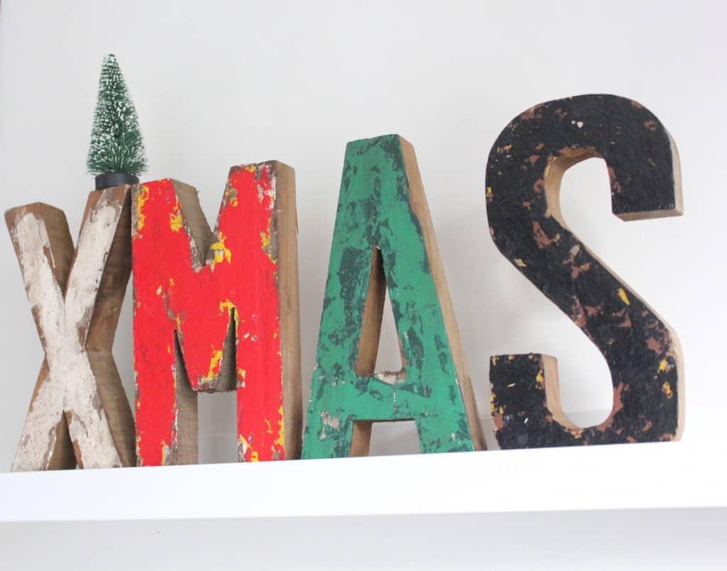kerst-letters