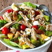 Een Kiplekkere salade