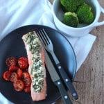 Zalm met feta kruidenkorstje | ENJOY! The Good Life