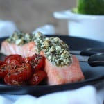 Zalm met feta kruidenkorstje | ENJOY! The Good Life