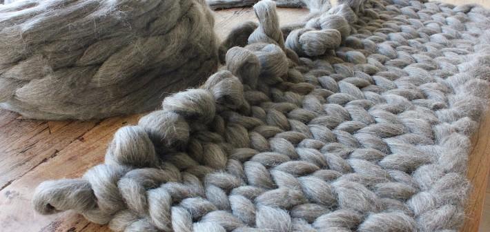Brei razendsnel een deken van lontwol