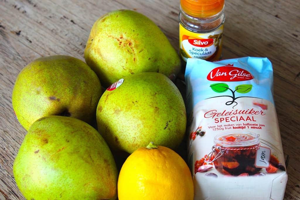 Perenjam met koek- en speculaaskruiden | ENJOY! The Good Life