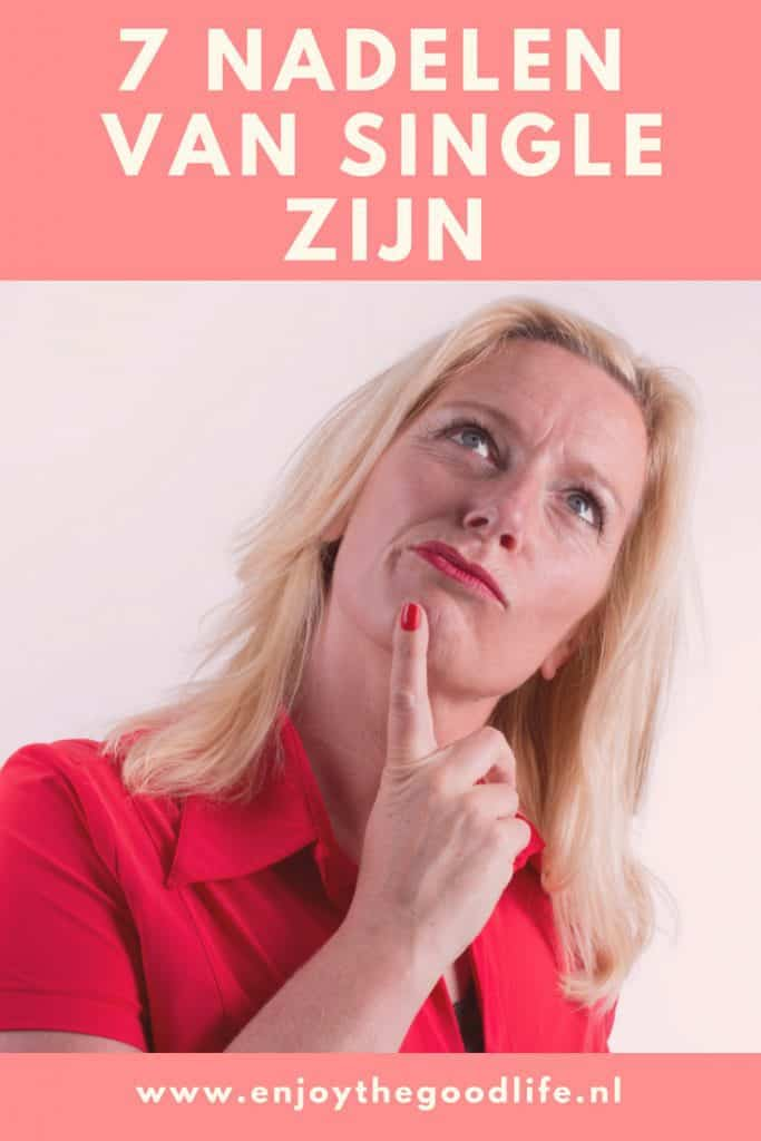7 nadelen van single zijn | ENJOY! The Good Life