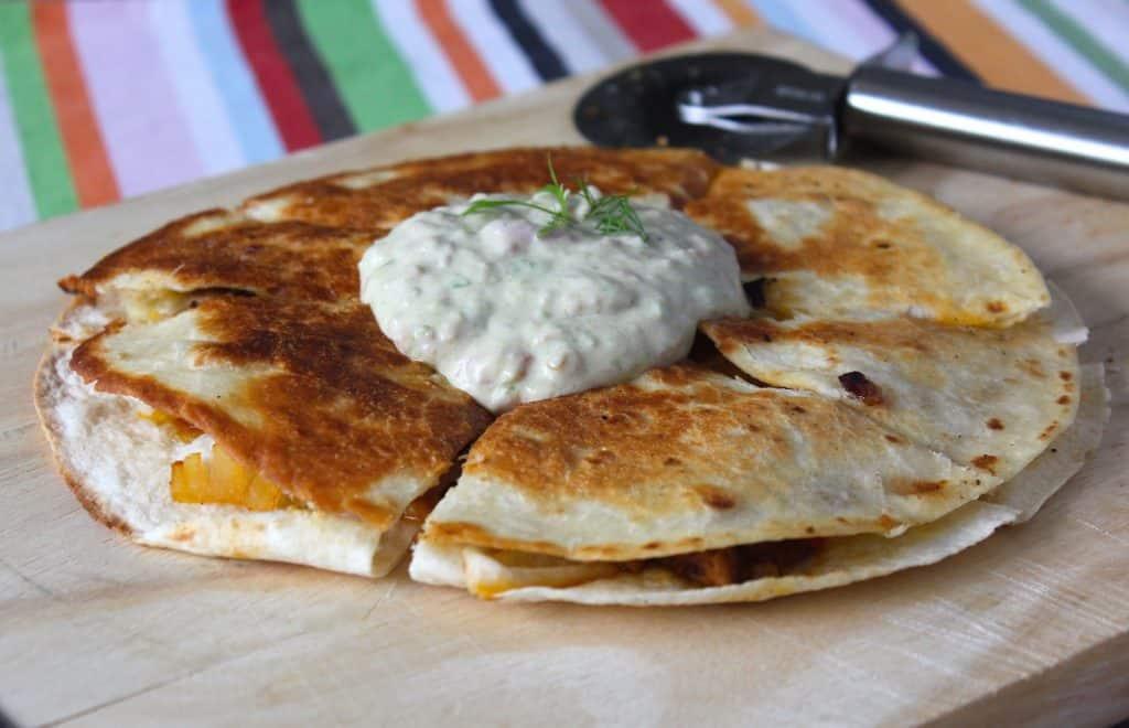 Quesadillas met guacamole | ENJOY! The Good Life