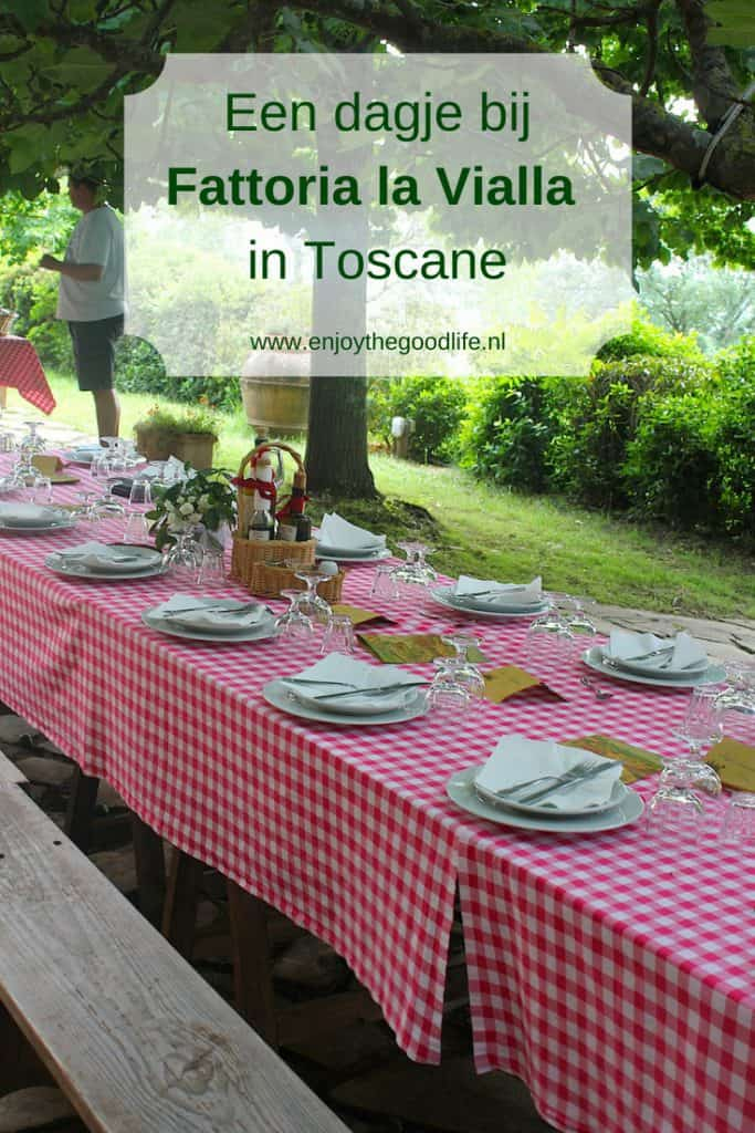 Een dagje bij Fattoria la Vialla in Toscane | ENJOY! The Good Life