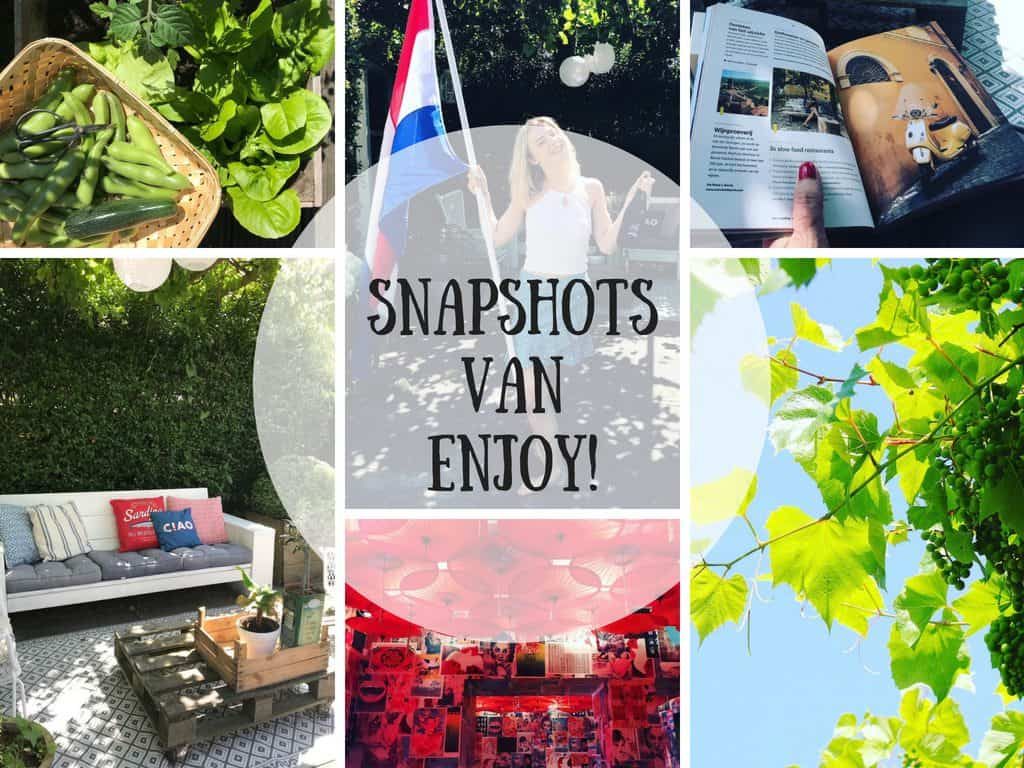 SNAPSHOTS WEEK 26/2018 | ENJOY! The Good Life