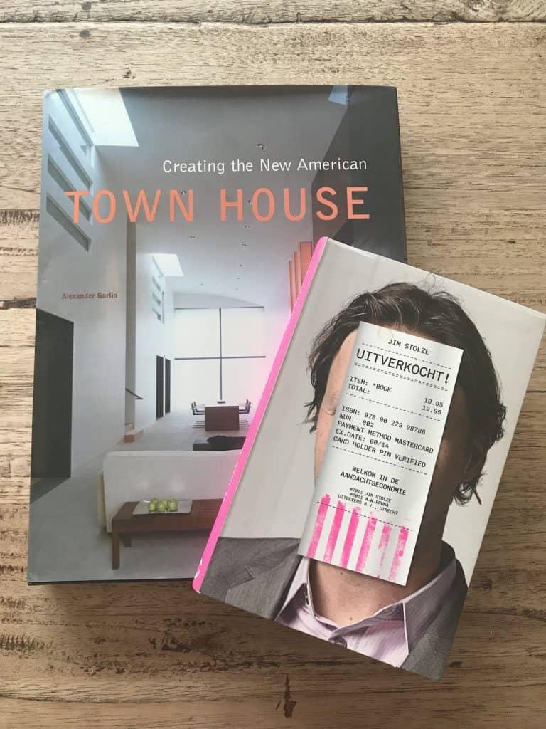 """Een mooi coffetablebook over Town Houses voor een prikkie, het marketing boek """"Uitverkocht!"""""""