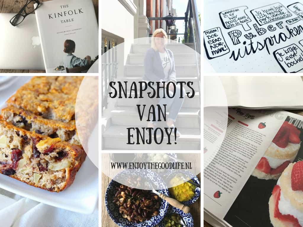 SNAPSHOTS week 33/2018 | ENJOY! The Good Life