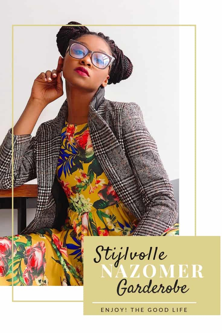 Stijlvolle nazomer garderobe | ENJOY! The Good Life
