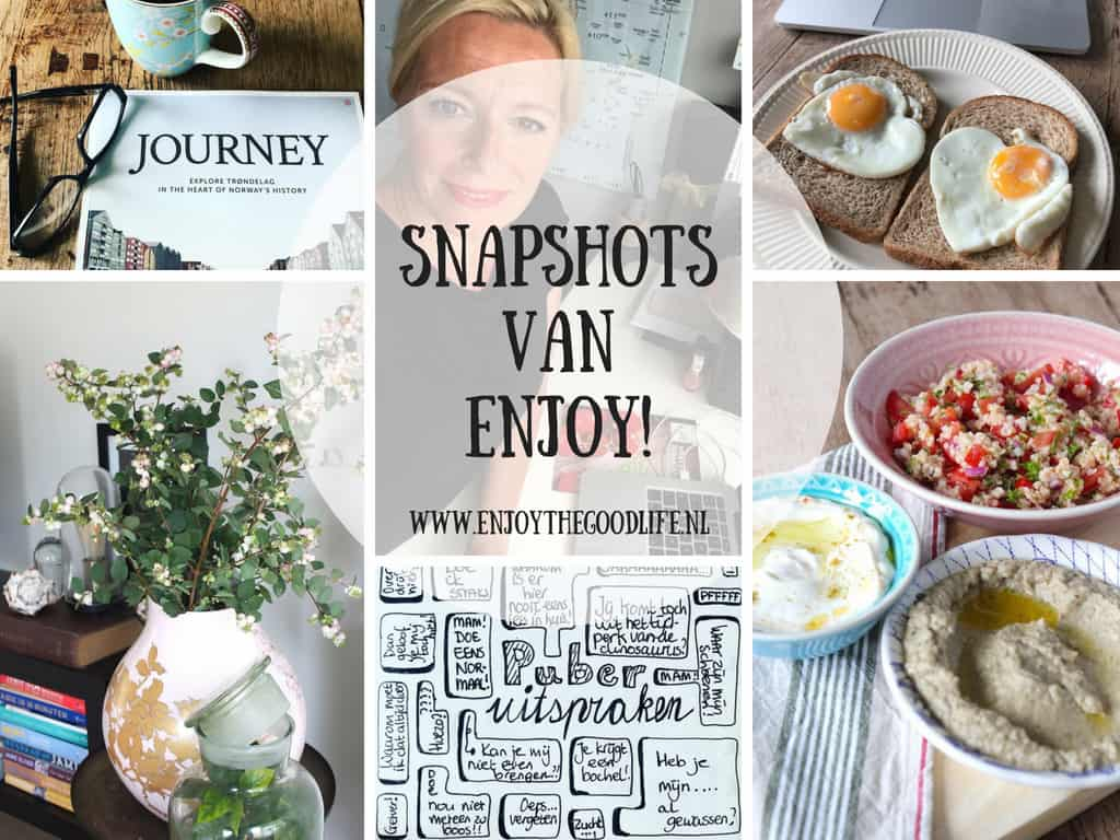 SNAPSHOTS WEEK 35/2018 | ENJOY! The Good Life