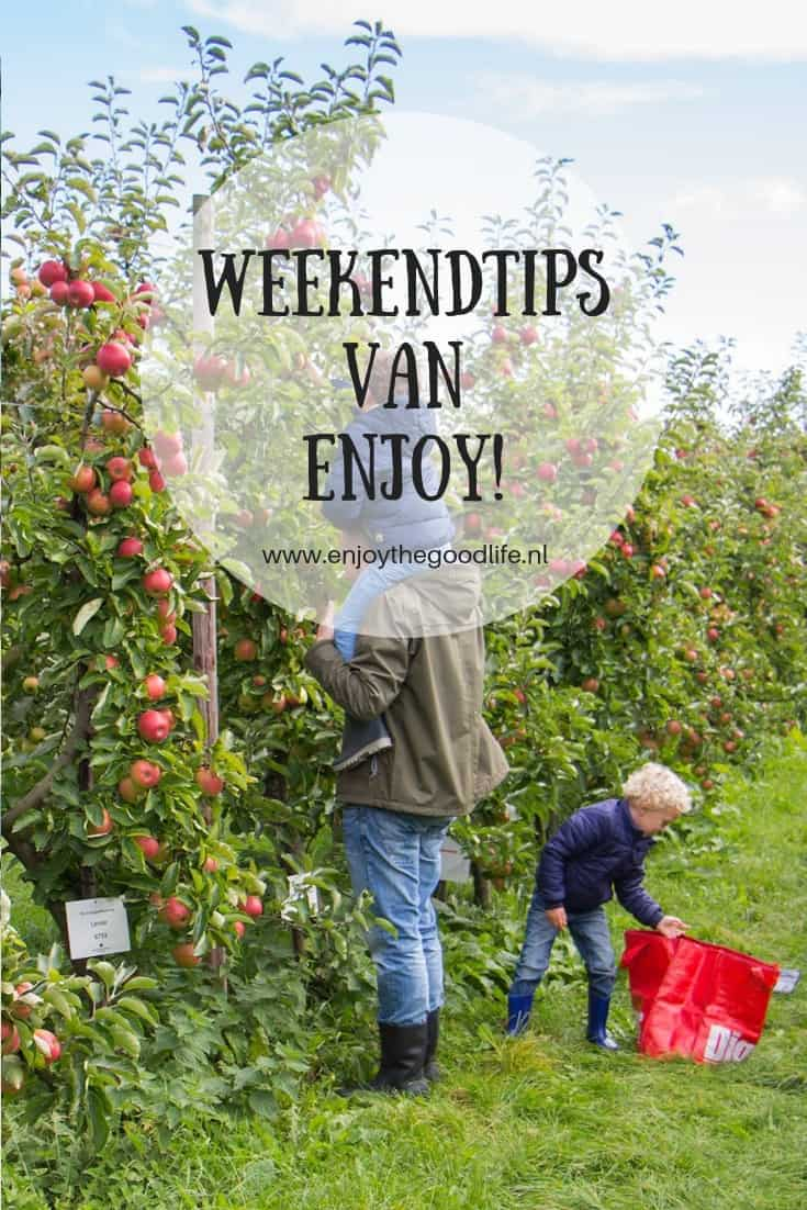 WEEKENDTIPS 14, 15 en 16 september 2018 | ENJOY! The Good Life