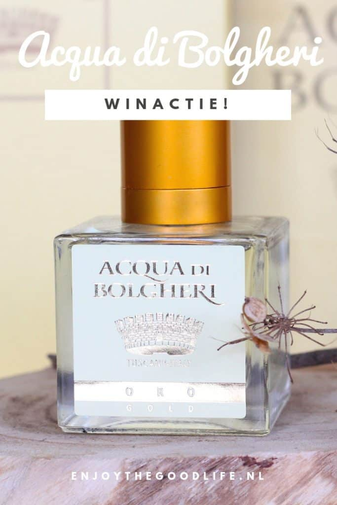 WIN! ACQUA DI BOLGHERI EAU DE PARFUM 100 ML | ENJOY! The Good Life