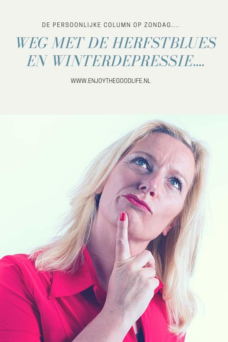 Weg met de herfstblues en winterdepressie! | ENJOY! The Good Lif