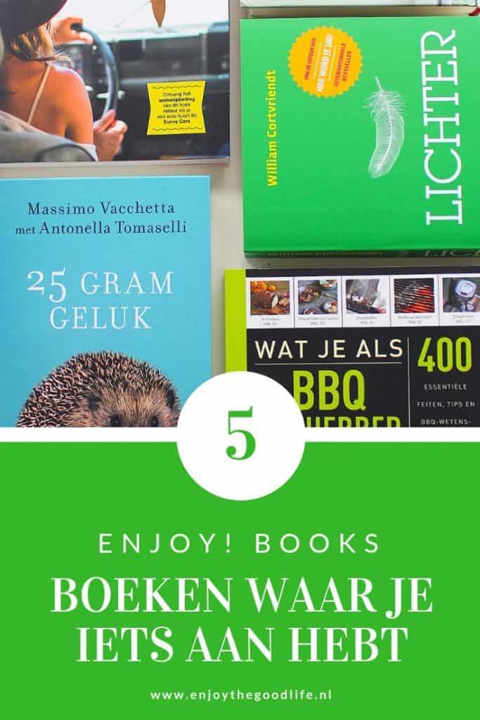 ENJOY! Books: 5 boeken waar je iets aan hebt | ENJOY! The Good Life