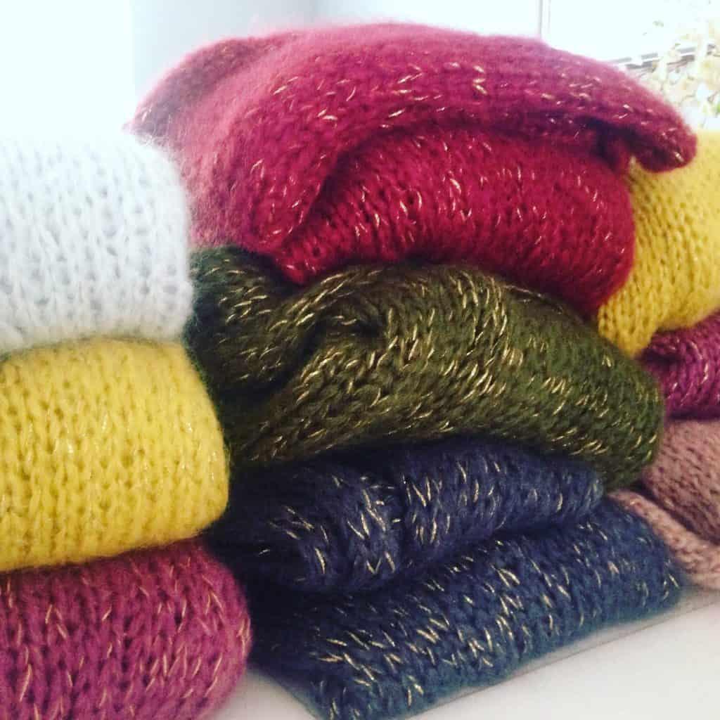 Op de Autumn-wishlist: Het fluffy vest van mohair