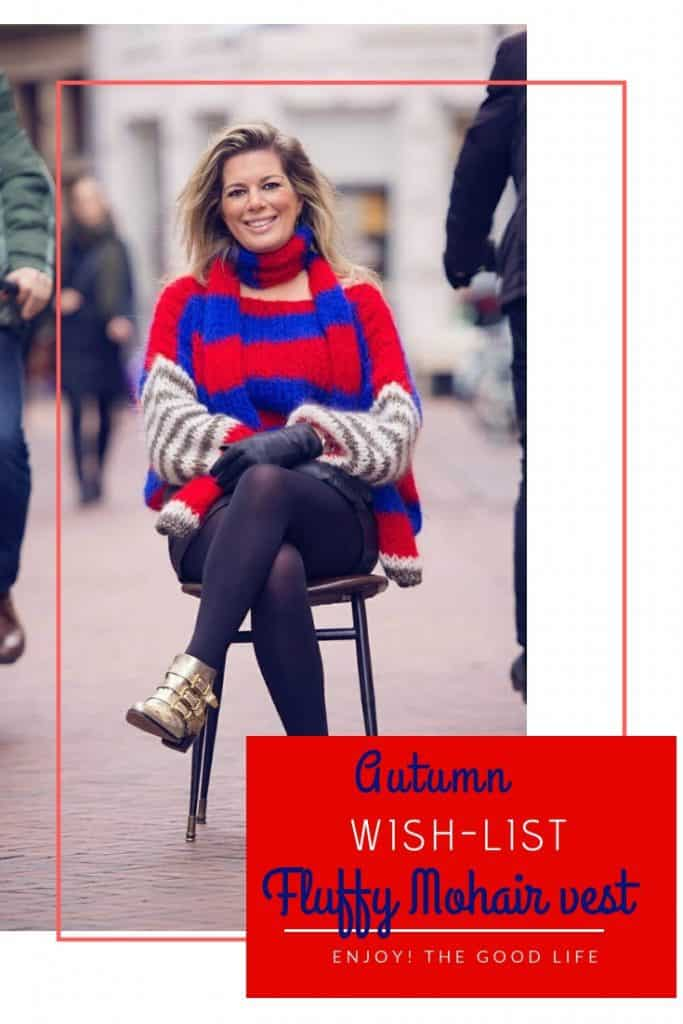 Autumn fashion-wishlist: Het fluffy vest van mohair | ENJOY! The Good Life