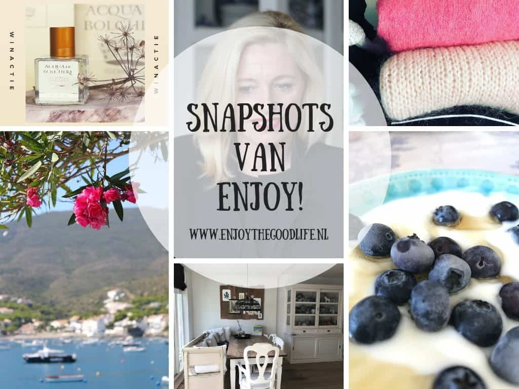SNAPSHOTS WEEK 41/2018 | ENJOY! The Good Life