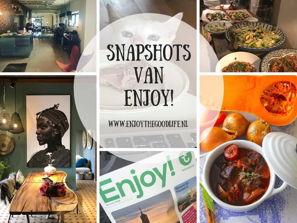 SNAPSHOTS WEEK 43/2018 | ENJOY! The Good Life