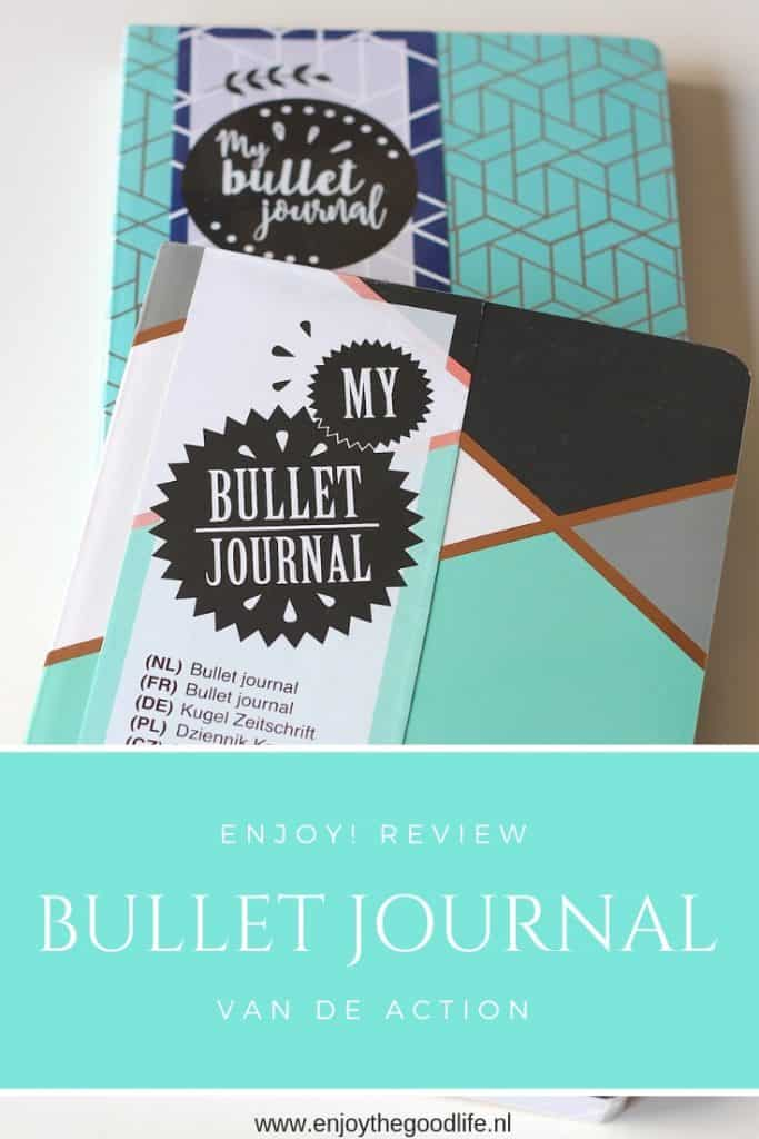 Bullet Journal van de Action | ENJOY! The Good Life