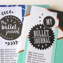 Bullet Journal van de Action