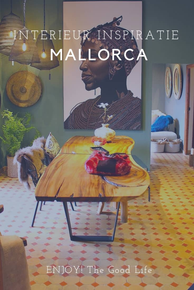 Interieur inspiratie bij Living Dreams op Mallorca | ENJOY! The Good Life