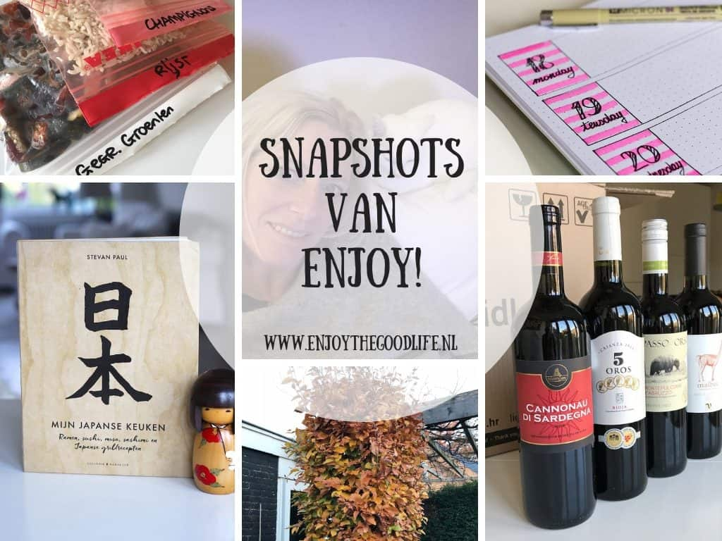 SNAPSHOTS WEEK 46/2018 | ENJOY! The Good Life