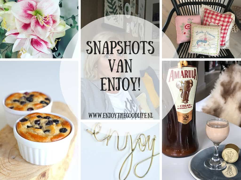 SNAPSHOTS week 48/2018 | ENJOY! The Good Life