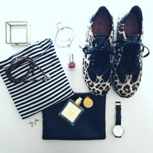 Xsensible Stretchwalker Leopard print sneakers