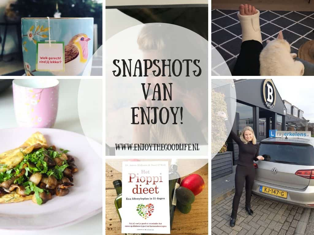 SNAPSHOTS WEEK 01/2019 | ENJOY! The Good Life