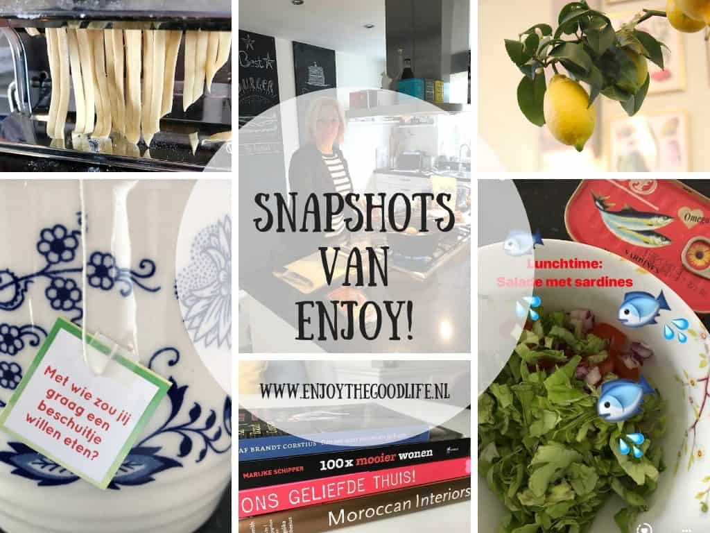 SNAPSHOTS week 05/2019 | ENJOY! The Good Life