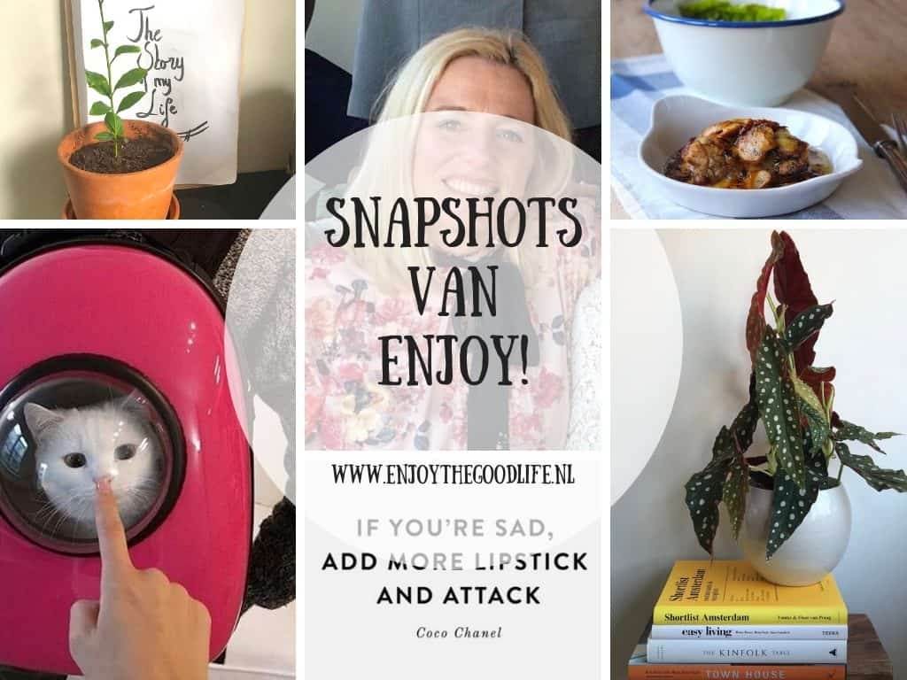 SNAPSHOTS WEEK 6/2019 | ENJOY! The Good Life