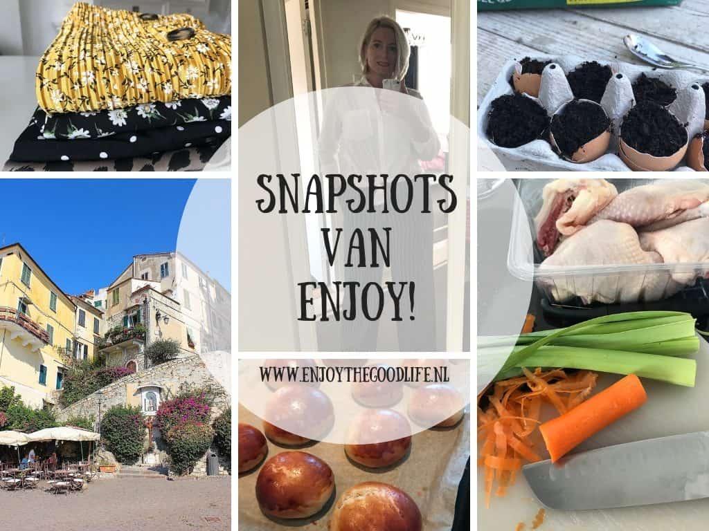 SNAPSHOTS WEEK 9/2019 | ENJOY! The Good Life