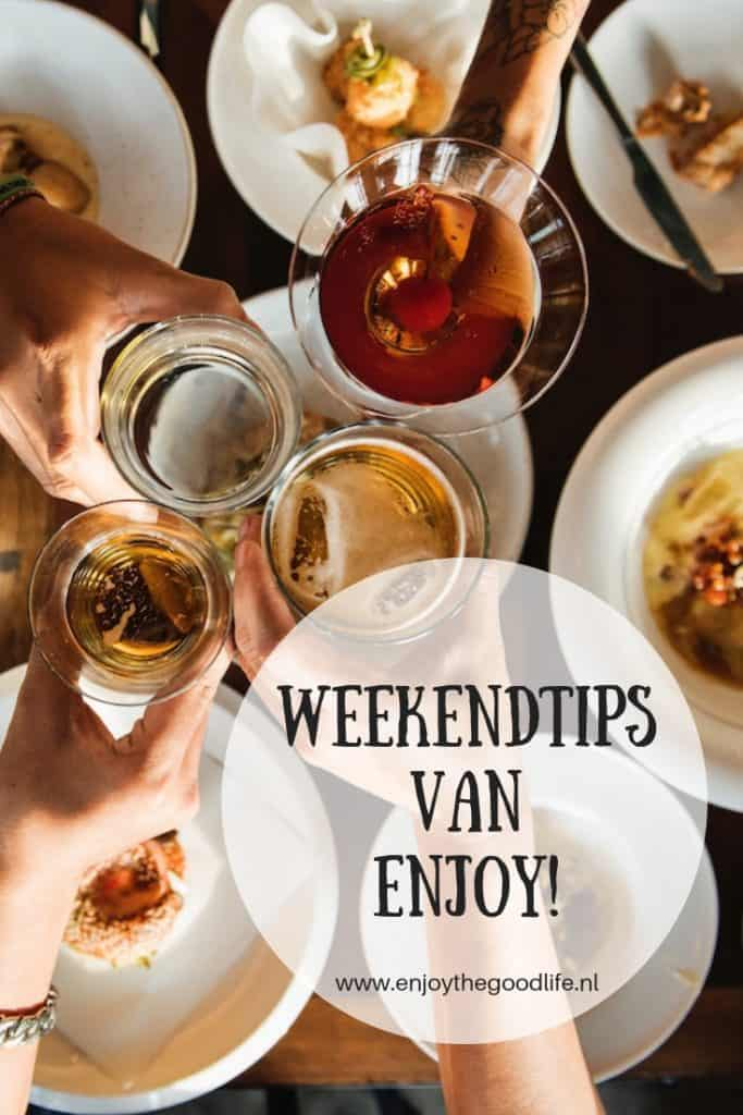 Lekker binnen blijven in het weekend | ENJOY! The Good Life