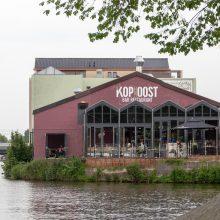 De Kop van Oost, Amsterdam. Een fijne plek aan het water