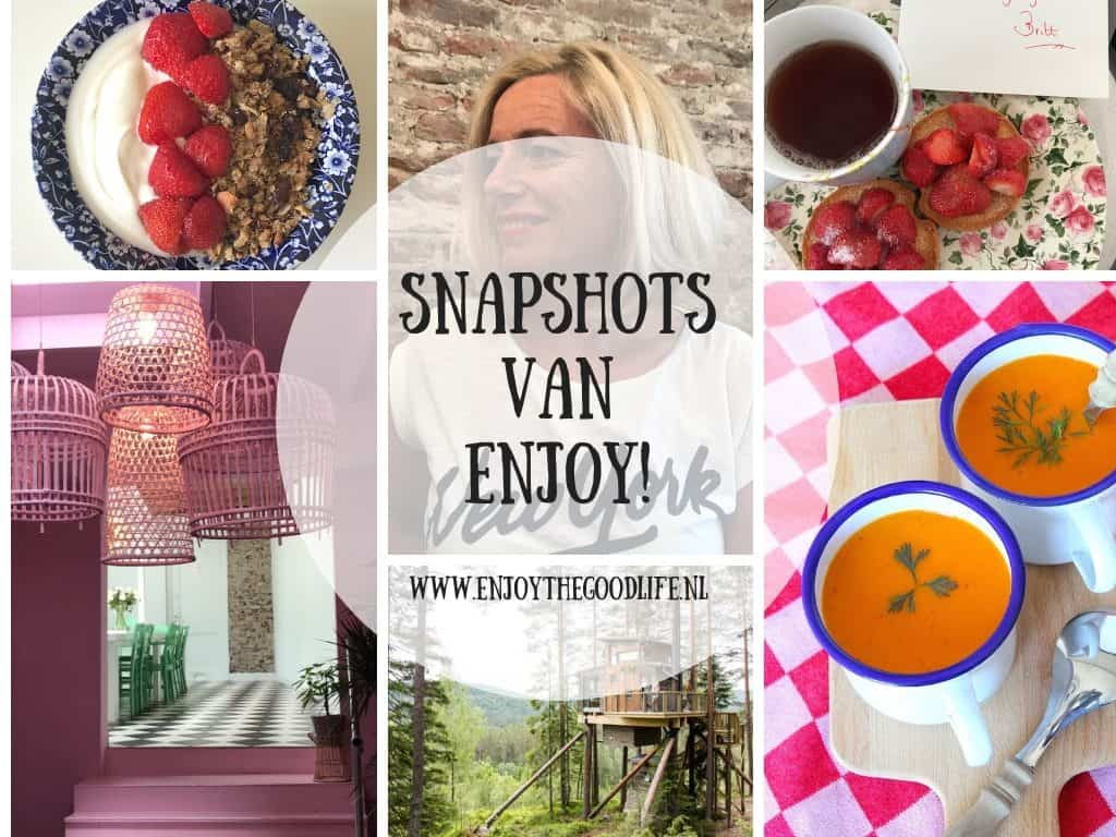 SNAPSHOTS WEEK 24 en 25/2019 | ENJOY! The Good Life