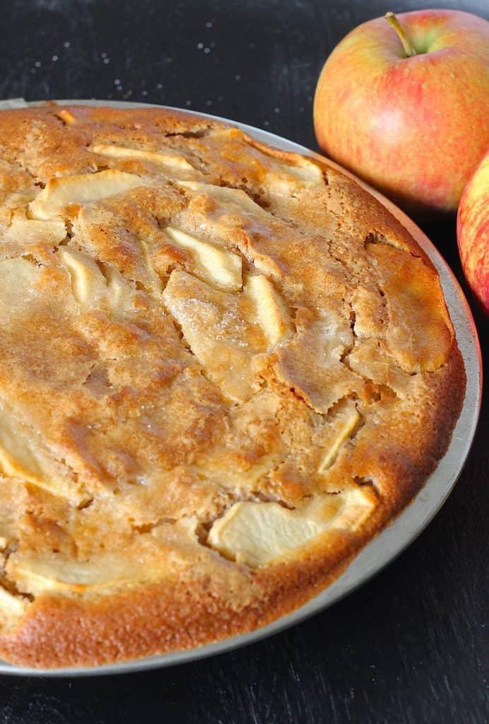 Äppelkaka | ENJOY! The Good Life