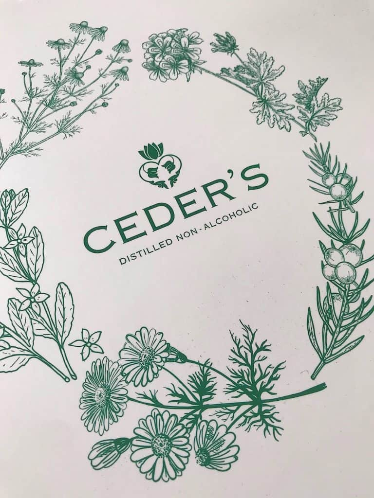 Ceder's Crips, een smaakvolle gin zonder alcohol | ENJOY! The Good Life