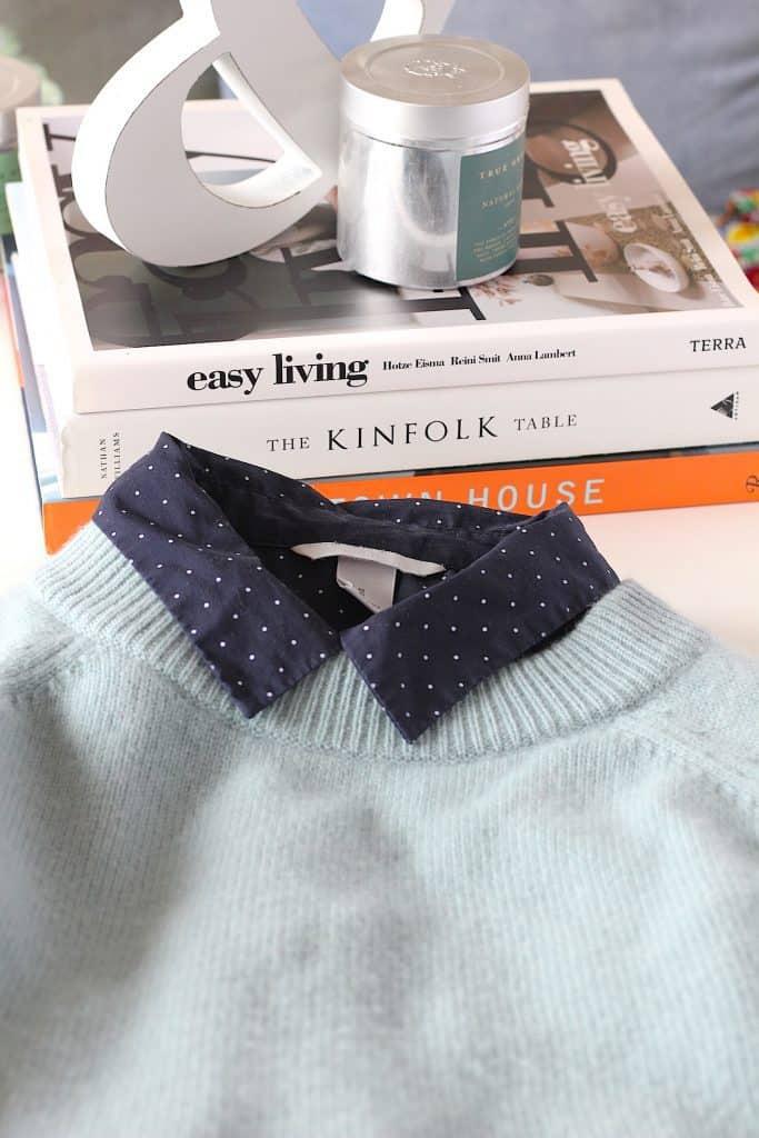 Vrolijke blouse onder je trui of sweater | ENJOY! The Good Life
