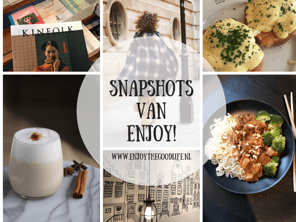 SNAPSHOTS WEEK 41/2019 | ENJOY! The Good Life