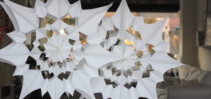 DIY: Kerstster van papieren boterhamzakjes