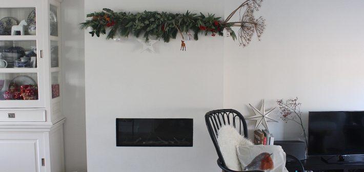Berenklauw als kerstdecoratie