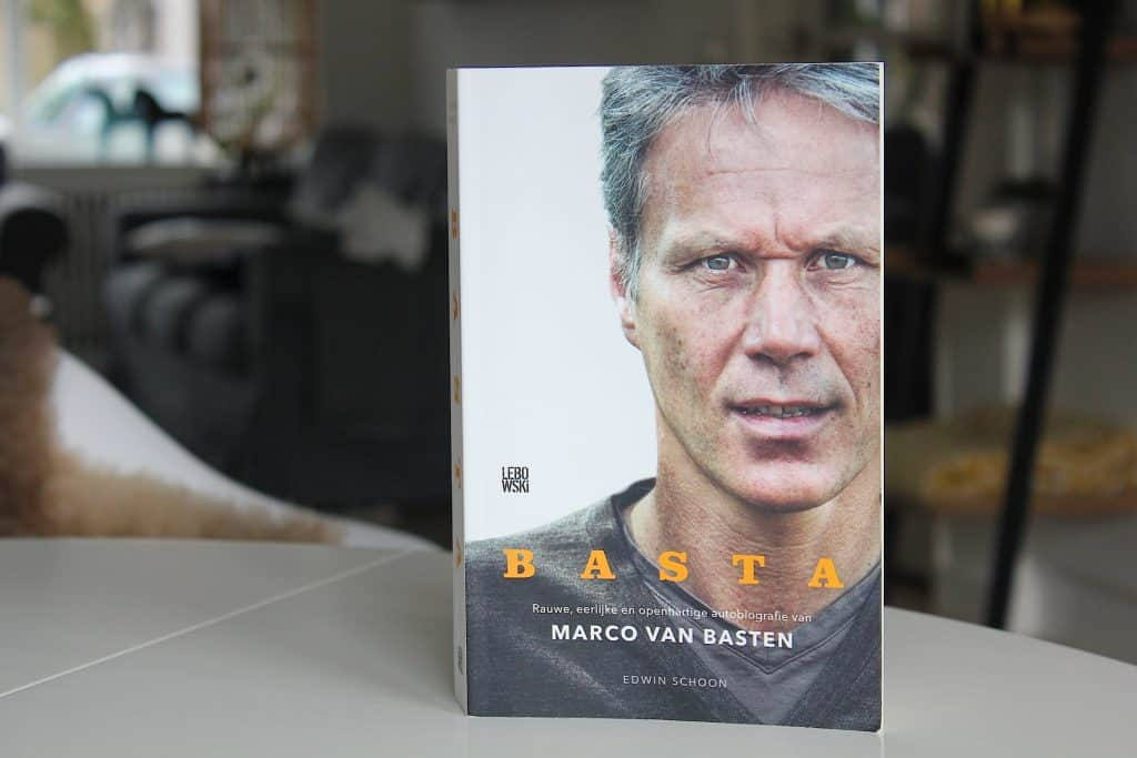 ENJOY! BOOKS: Basta, autobiografie van Marco van Basten | ENJOY! The Good Life