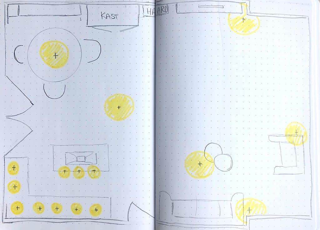 In 5 stappen het perfecte lichtplan maken | ENJOY! The Good Life