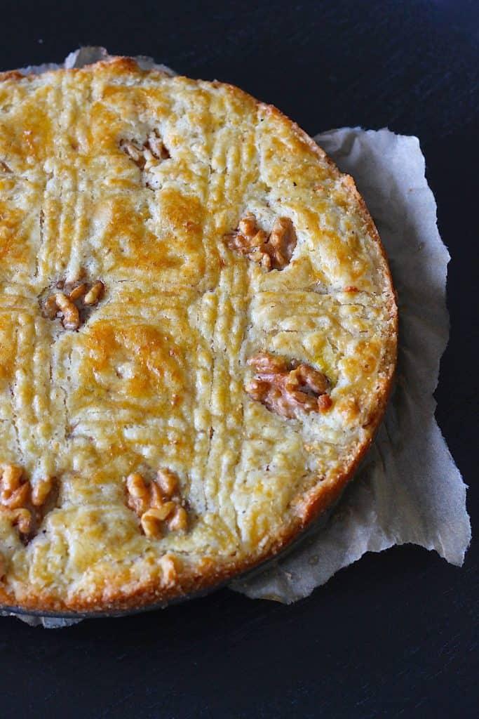 Boterkoek met walnoten | ENJOY! The Good Life