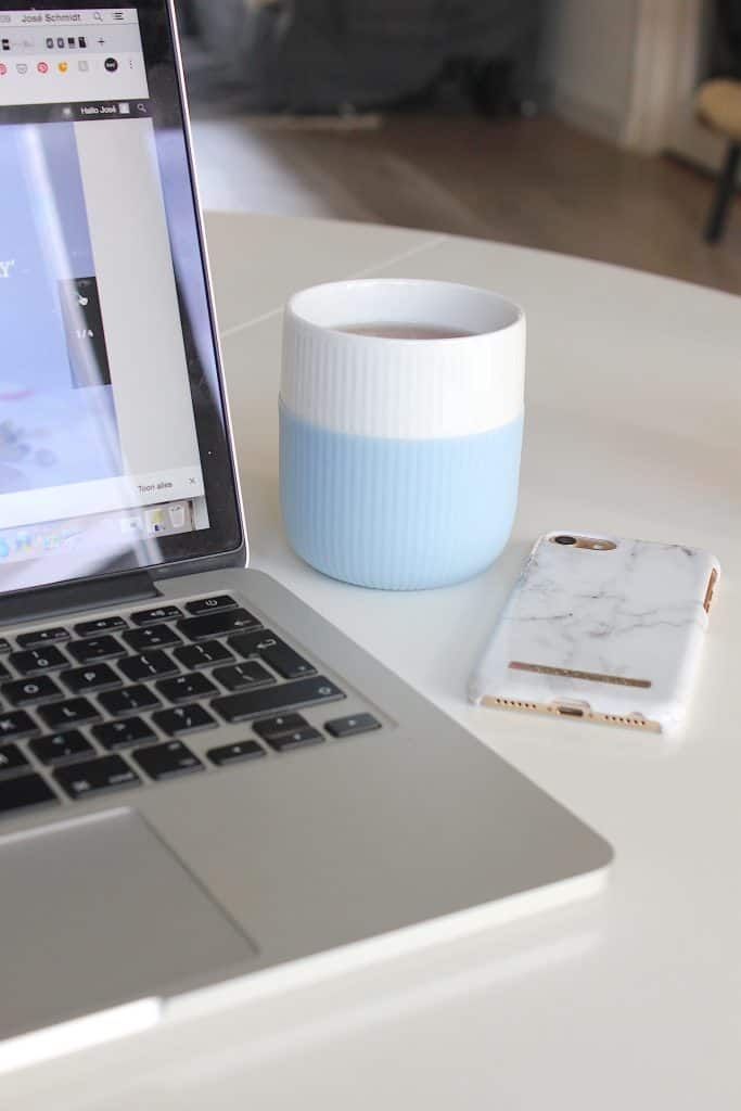 FAVORITE: Royal Kopenhagen Fluted Contrast Mug | ENJOY! The Good Life