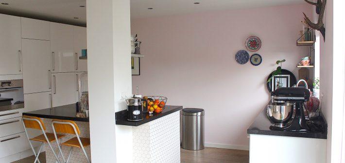 Binnenkijker: De roze keuken van ENJOY!
