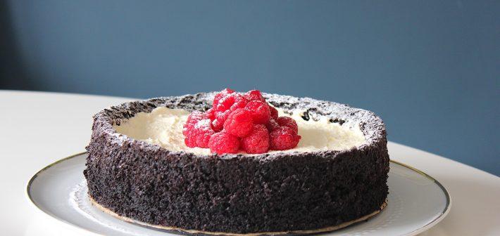 Chocoladetaart met olijfolie. Van misbaksel naar toptaart!
